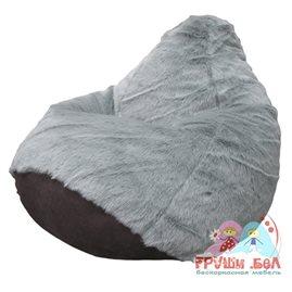 Бескаркасное кресло-мешок Груша Пушистое-2