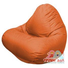 Живое кресло-мешок RELAX оранжевое