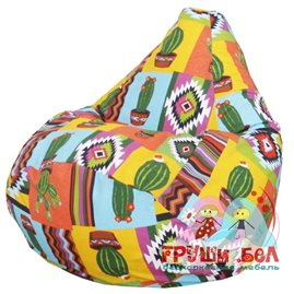 Живое кресло-мешок Груша Кактус