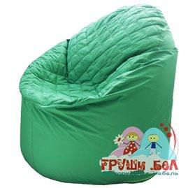 Живое кресло-мешок Bravo зелёное (+ синтепон)