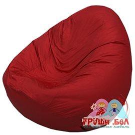 Живое кресло-мешок Груша Мини бордовый