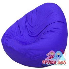 Живое кресло-мешок Груша Мини синее