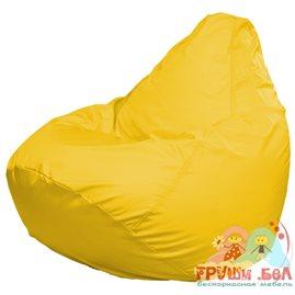 Живое кресло-мешок груша Макси желтое дюспо