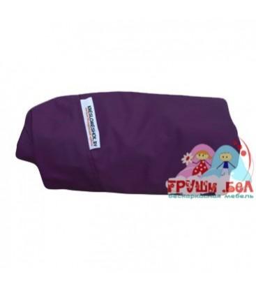 Чехол для живого кресла мешка груши фиолетовый