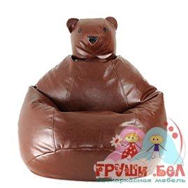 Живое кресло-мешок Медведь Груша