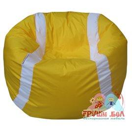 Живое кресло-мешок Мяч теннисный желтый