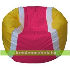 Живое кресло-мешок Мяч теннисный фуксия