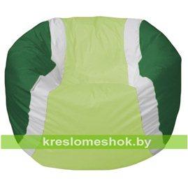 Живое кресло-мешок Мяч теннисный салатово-зеленый