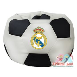 Живое кресло-мешок Мяч Стандарт Реал