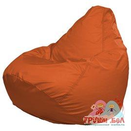 Живое кресло-мешок Груша Макси оранжевое
