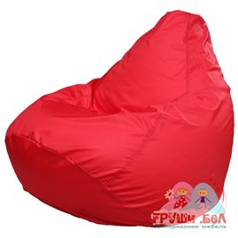 Живое кресло-мешок Груша Макси красное