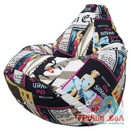 Живое кресло-мешок Груша Монро-2