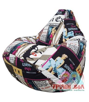 Живое кресло-мешок Груша Глори