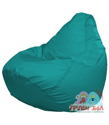 Живое кресло-мешок Груша Макси бирюза