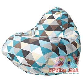 Бескаркасное кресло-мешок RELAX Ромб 03