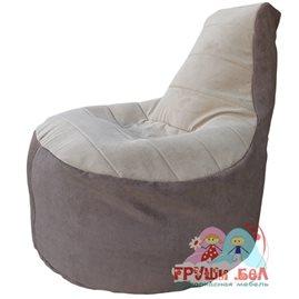 Бескаркасное кресло-мешок Трон Велюр