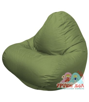 Живое кресло-мешок RELAX оливковое