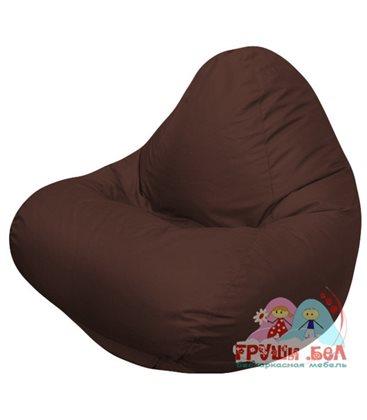 Живое кресло-мешок RELAX коричнивое