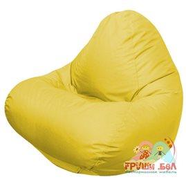 Живое кресло-мешок RELAX желтое