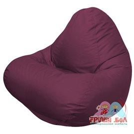 Живое кресло-мешок RELAX бордовое