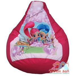 Бескаркасное кресло-мешок С Днём Рождения