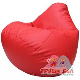 Живое кресло-мешок Груша Г2.3-09 красный