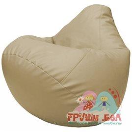 Живое кресло-мешок Груша Г2.3-12 бежевый