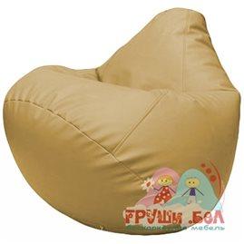 Живое кресло-мешок Груша Г2.3-13 бежевый