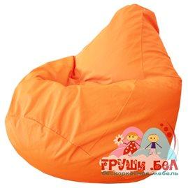 Живое кресло-мешок Груша Оранжевое Г2.7-08