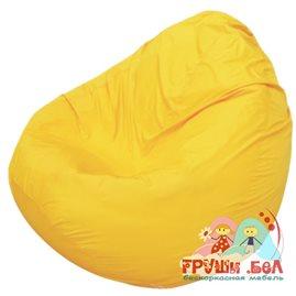 Живое кресло-мешок Груша Мини жёлтое