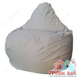 Живое кресло-мешок Груша Бежевое Г2.7-17
