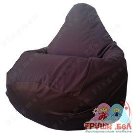 Живое кресло-мешок Груша Коричневое Г2.7-12