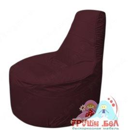 Бескаркасное кресло мешокТрон Т1.1-01(бордовый)