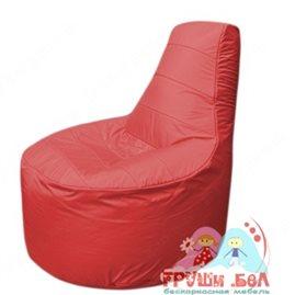 Бескаркасное кресло мешокТрон Т1.1-02(красный)