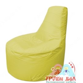 Бескаркасное кресло мешокТрон Т1.1-06(желтый)