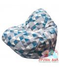 Живое кресло-мешок RELAX P2.5-177 ZigZag Blooks 102