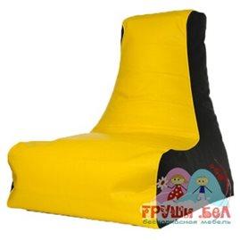 Живое кресло-мешок Бумеранг экокожа