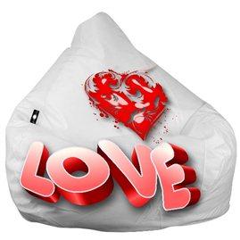 """Живое кресло-мешок груша """"Love"""""""