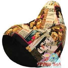 Живое кресло-мешок Груша Монро