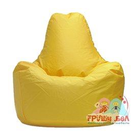 Живое кресло-мешок Спортинг желтое