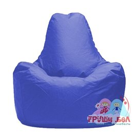 Живое кресло-мешок Спортинг синее