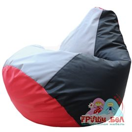 Живое кресло-мешок Груша Ватрушка