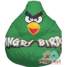 Живое кресло-мешок Птичка зеленая